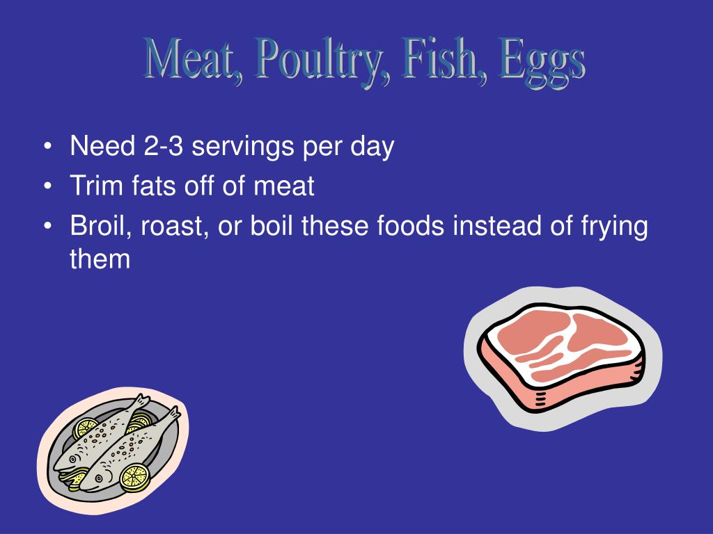 Meat, Poultry, Fish, Eggs