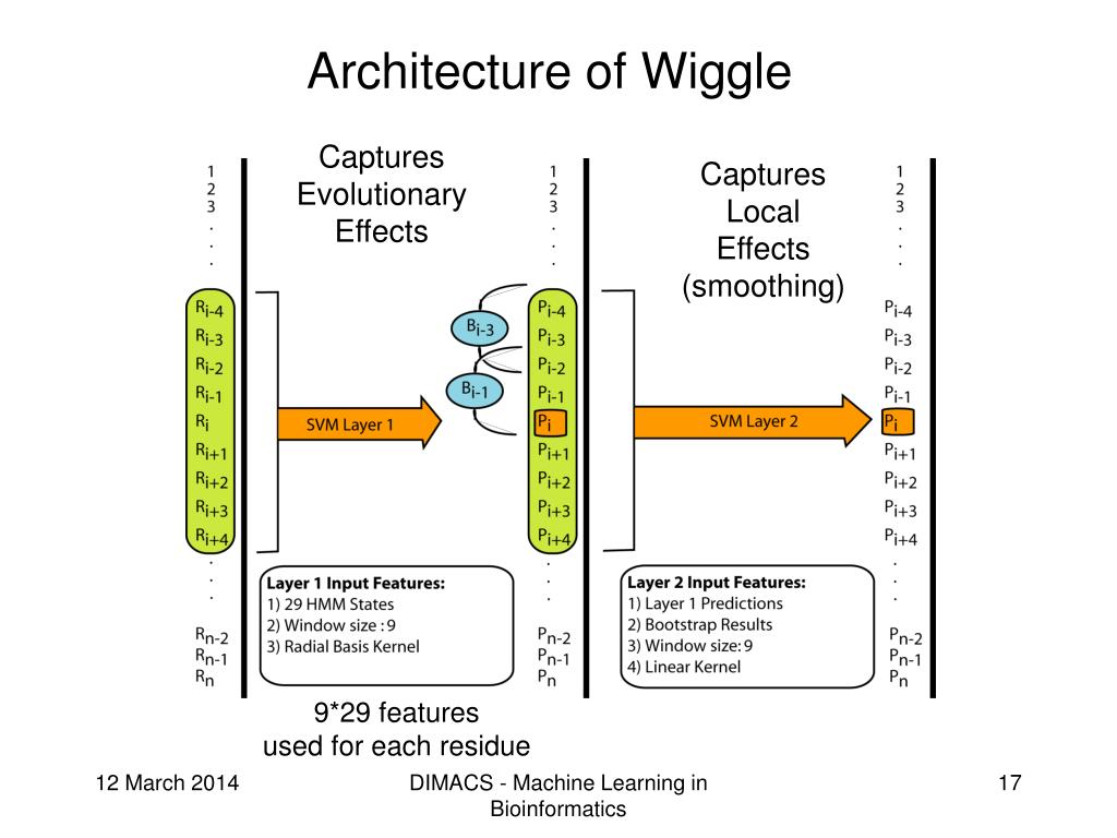 Architecture of Wiggle