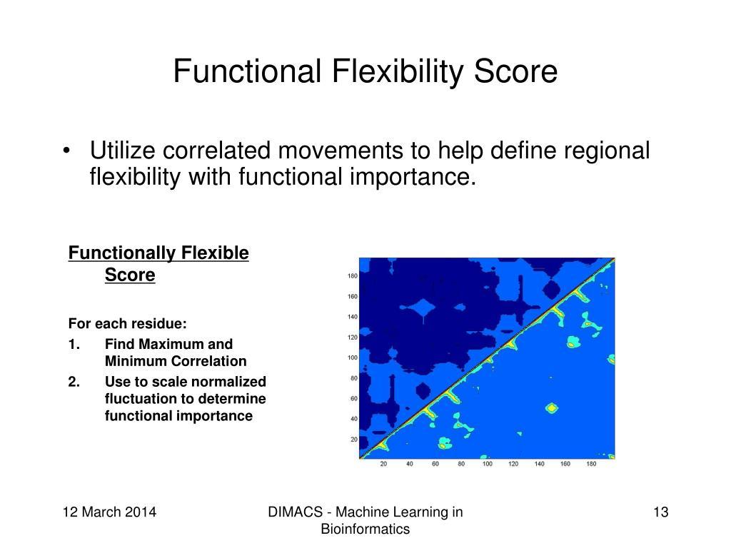 Functional Flexibility Score