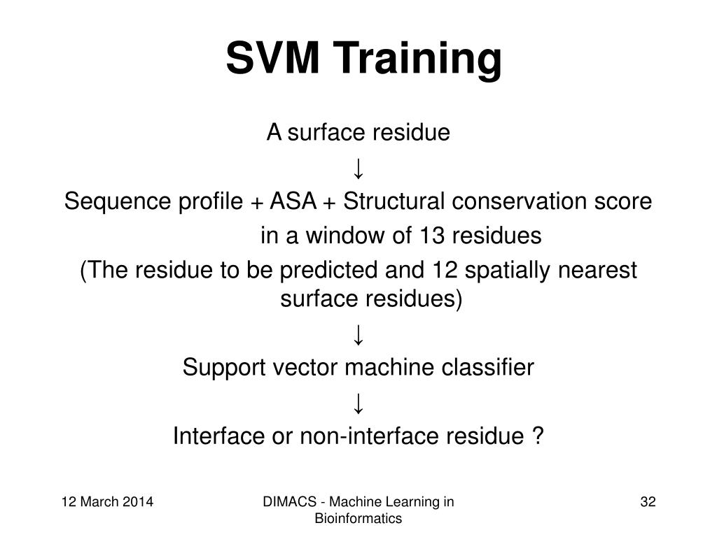SVM Training