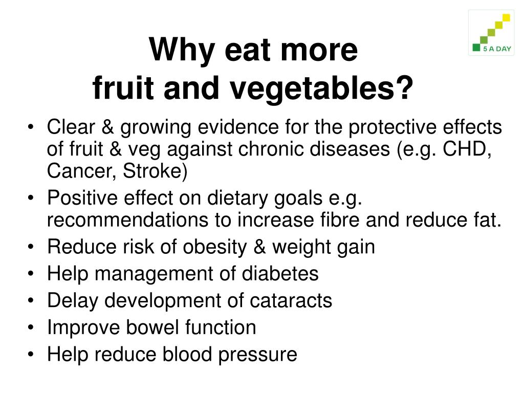 Why eat more