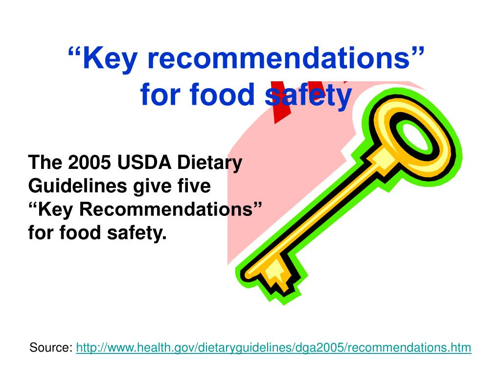 """""""Key recommendations"""""""