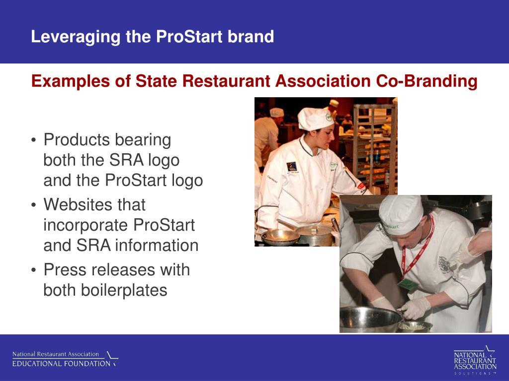Leveraging the ProStart brand
