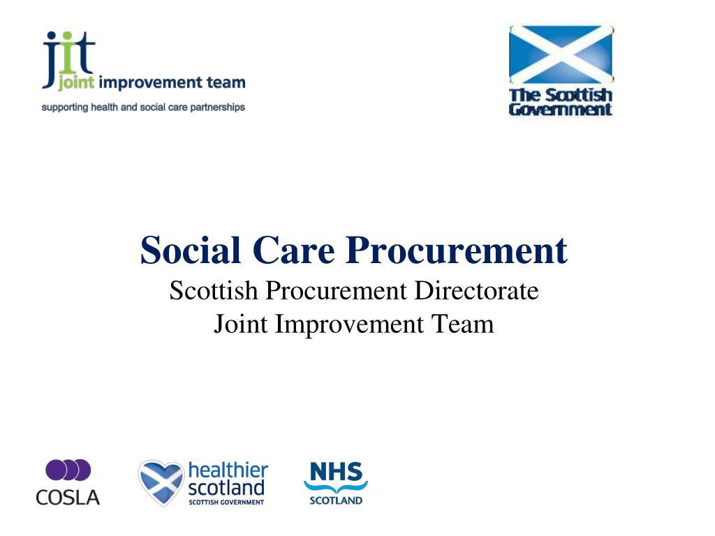 Social Care Procurement