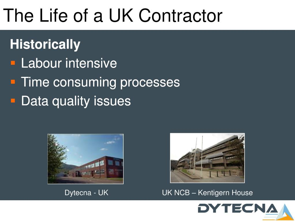 The Life of a UK Contractor