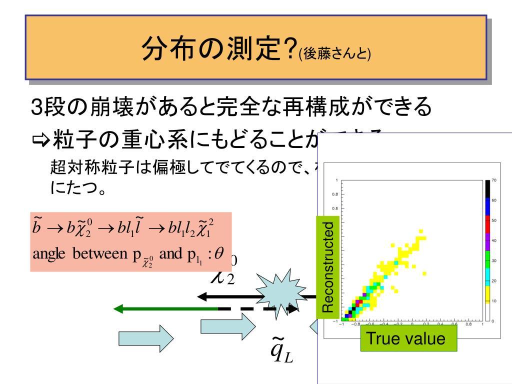 分布の測定