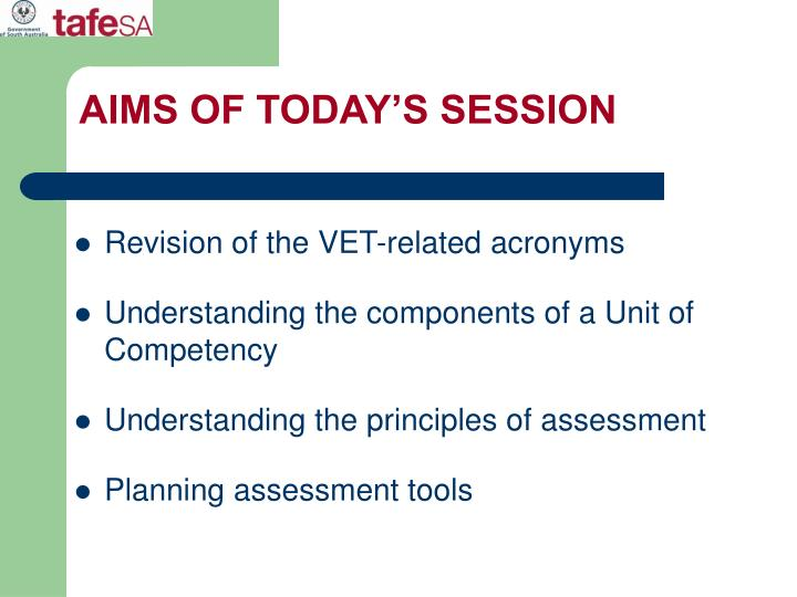 Aims of today s session l.jpg