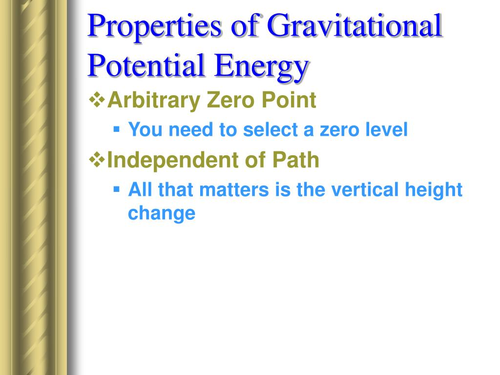 Properties of Gravitational