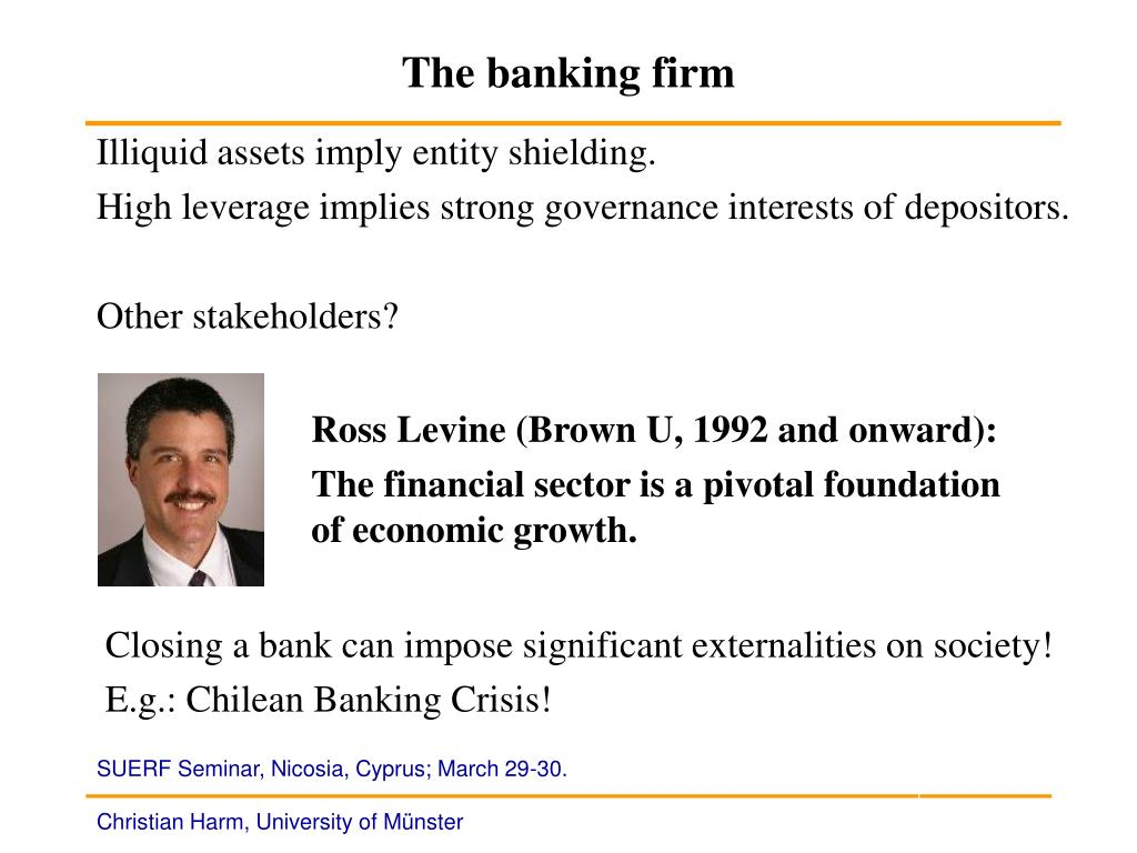 The banking firm