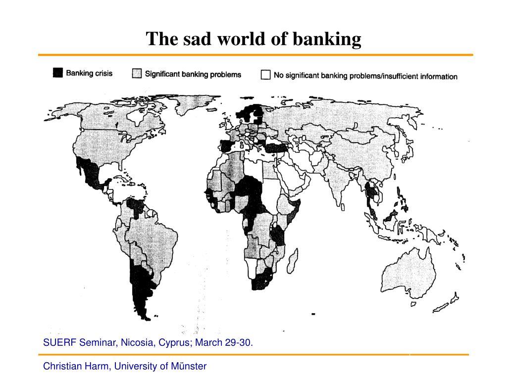 The sad world of banking