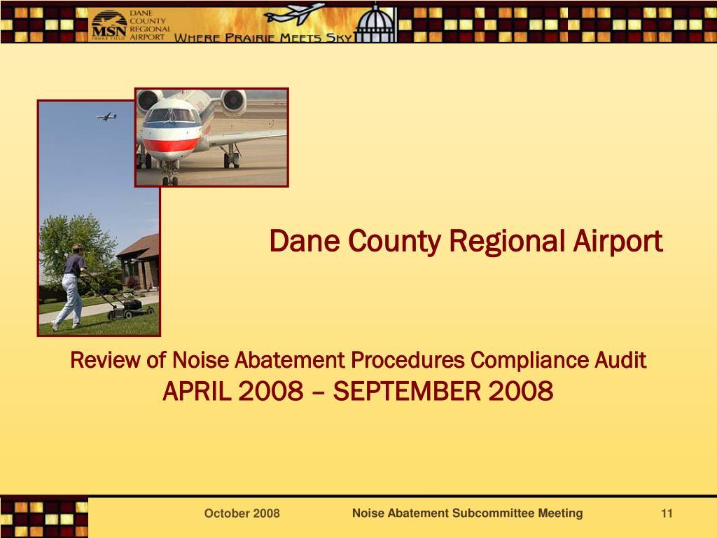 Dane County Regional Airport