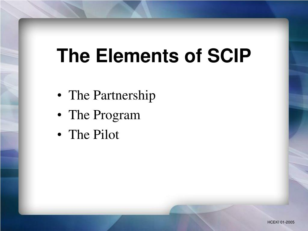 The Elements of SCIP