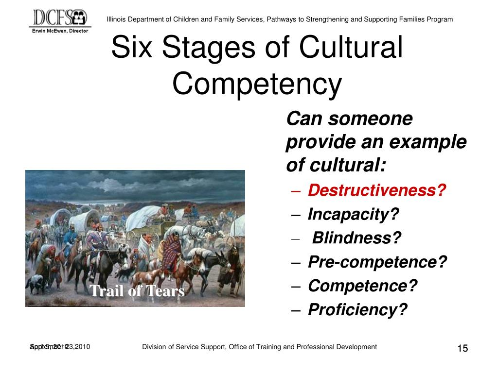 Six Stages of Cultural Competency