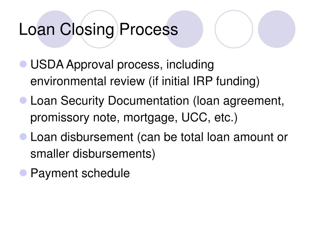 Loan Closing Process