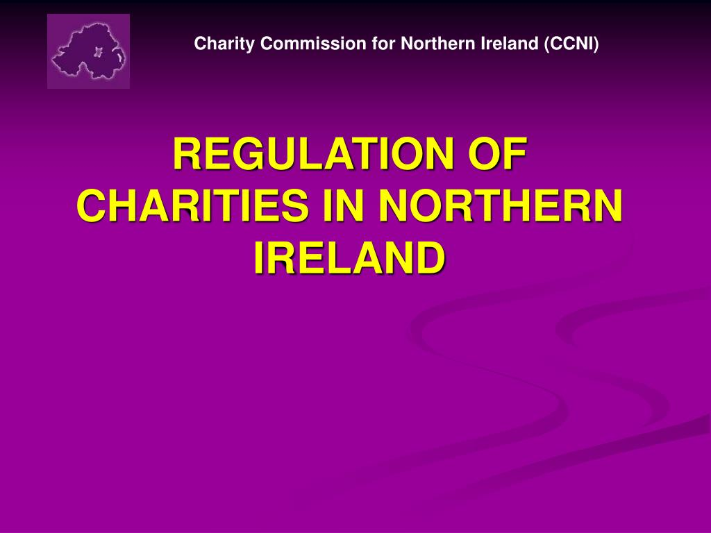 Charity Commission for Northern Ireland (CCNI)