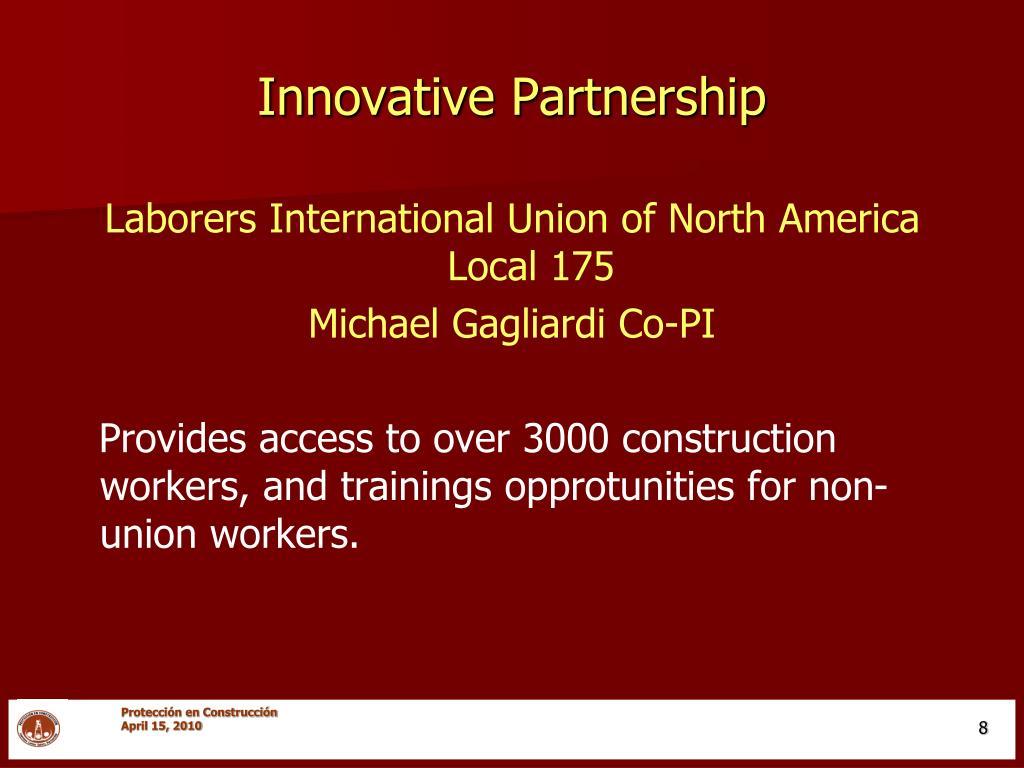 Innovative Partnership