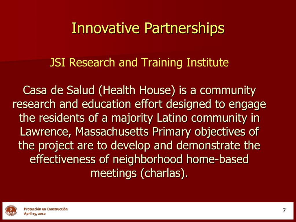 JSI Research and Training Institute