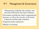 vi management governance