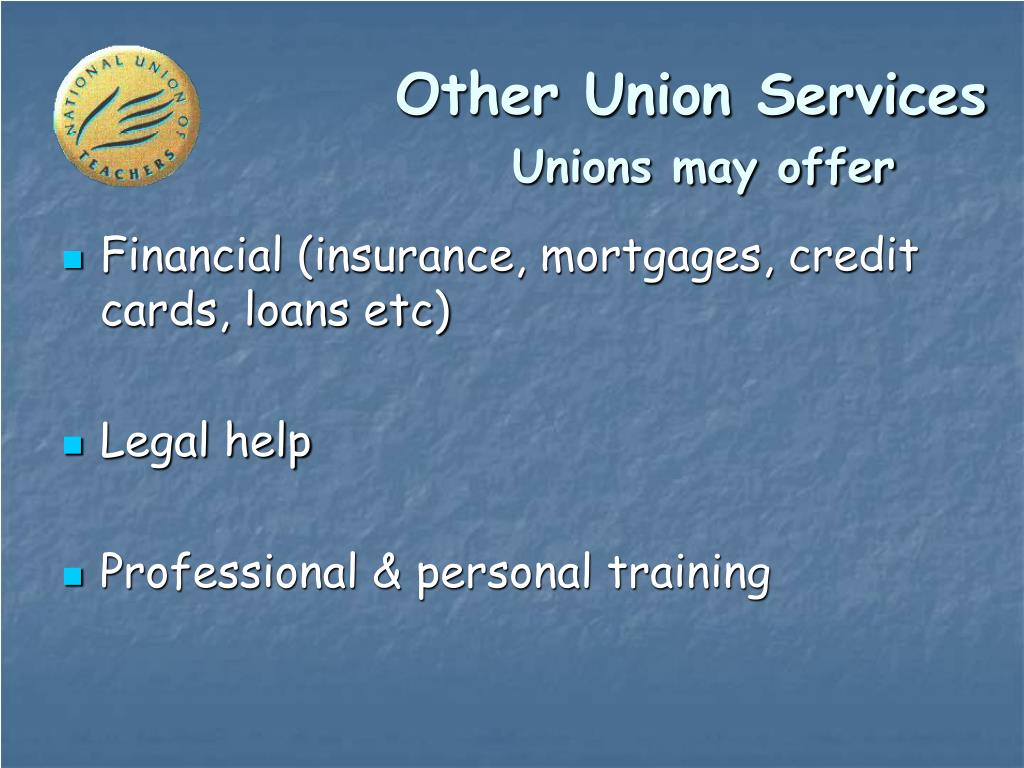 Other Union Services