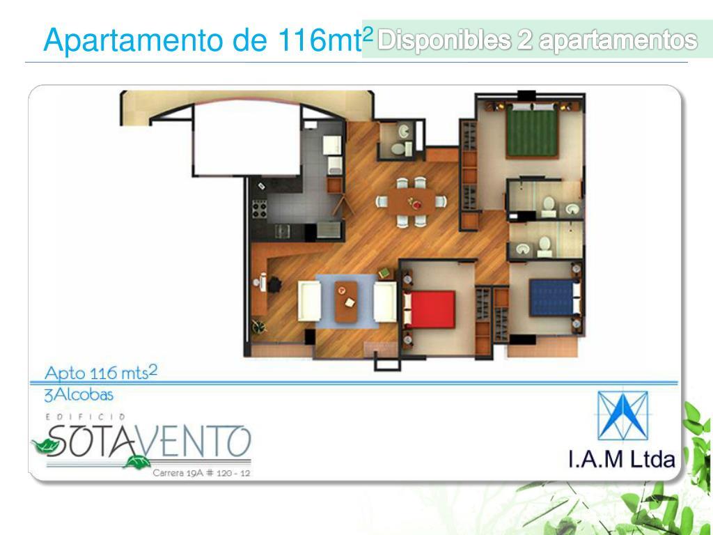 Disponibles 2 apartamentos