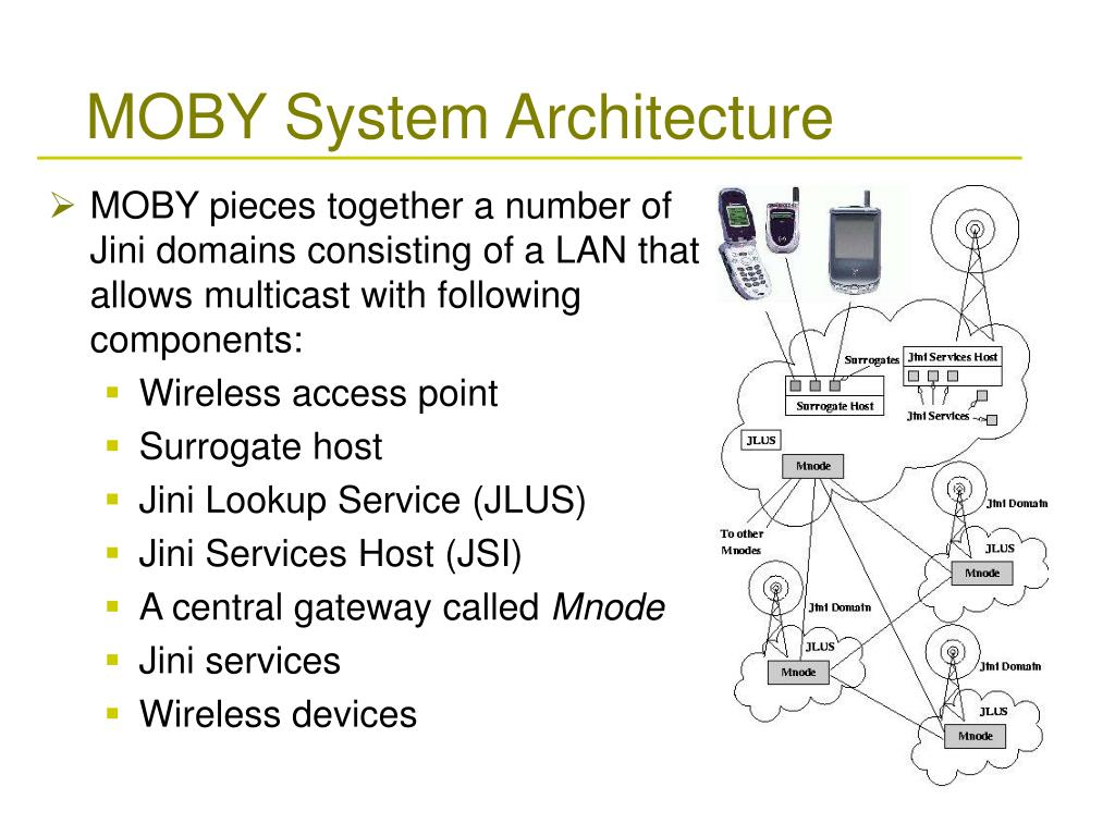 MOBY System Architecture