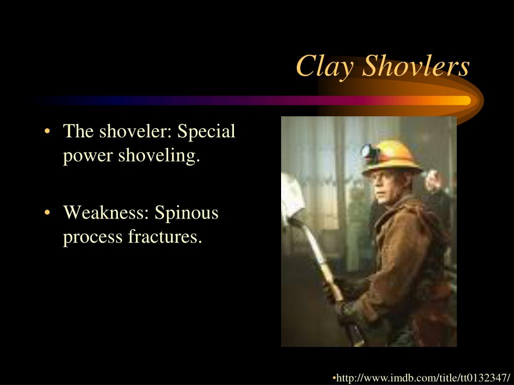 Clay Shovlers