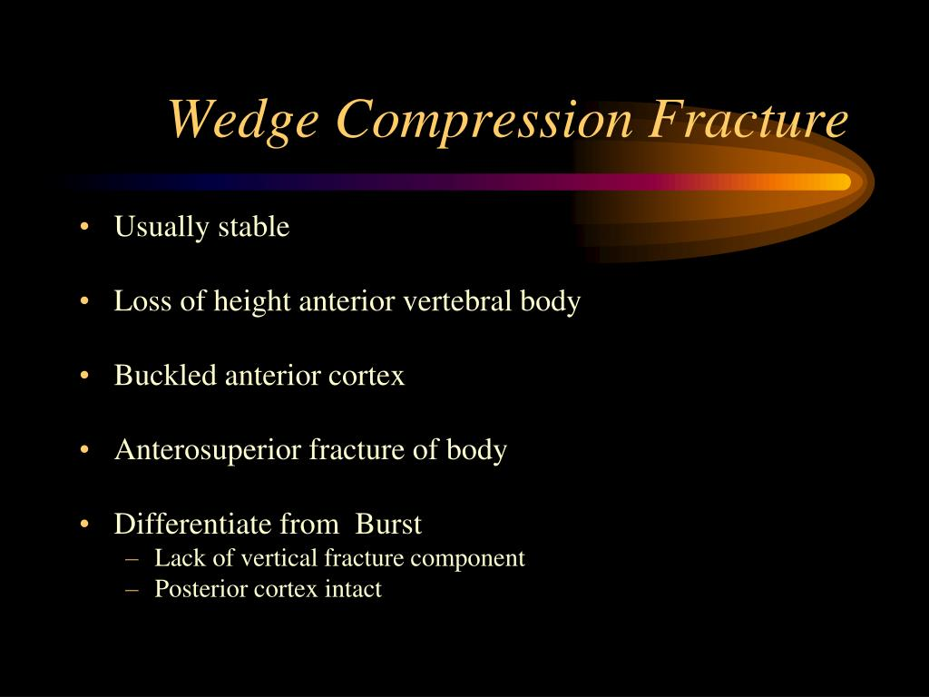 Wedge Compression Fracture