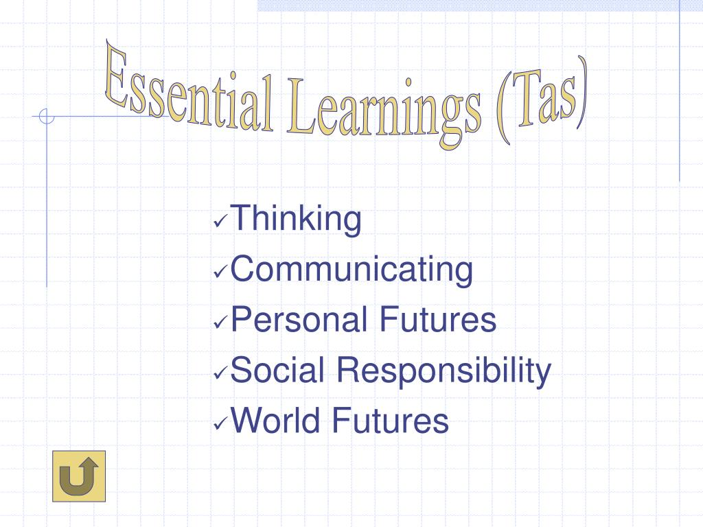 Essential Learnings (Tas)