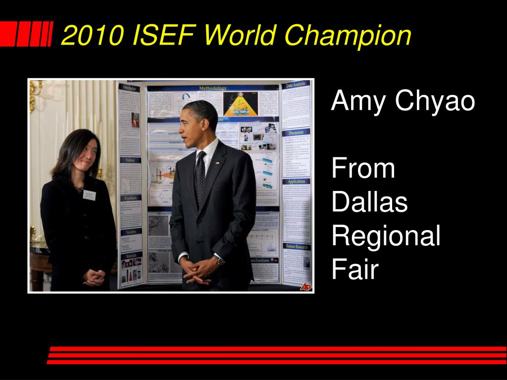2010 ISEF World Champion