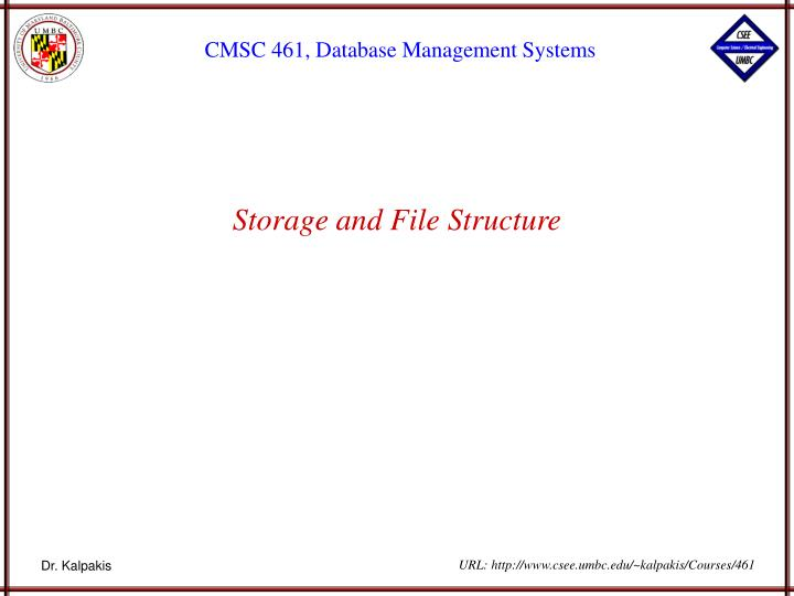 Storage and file structure l.jpg