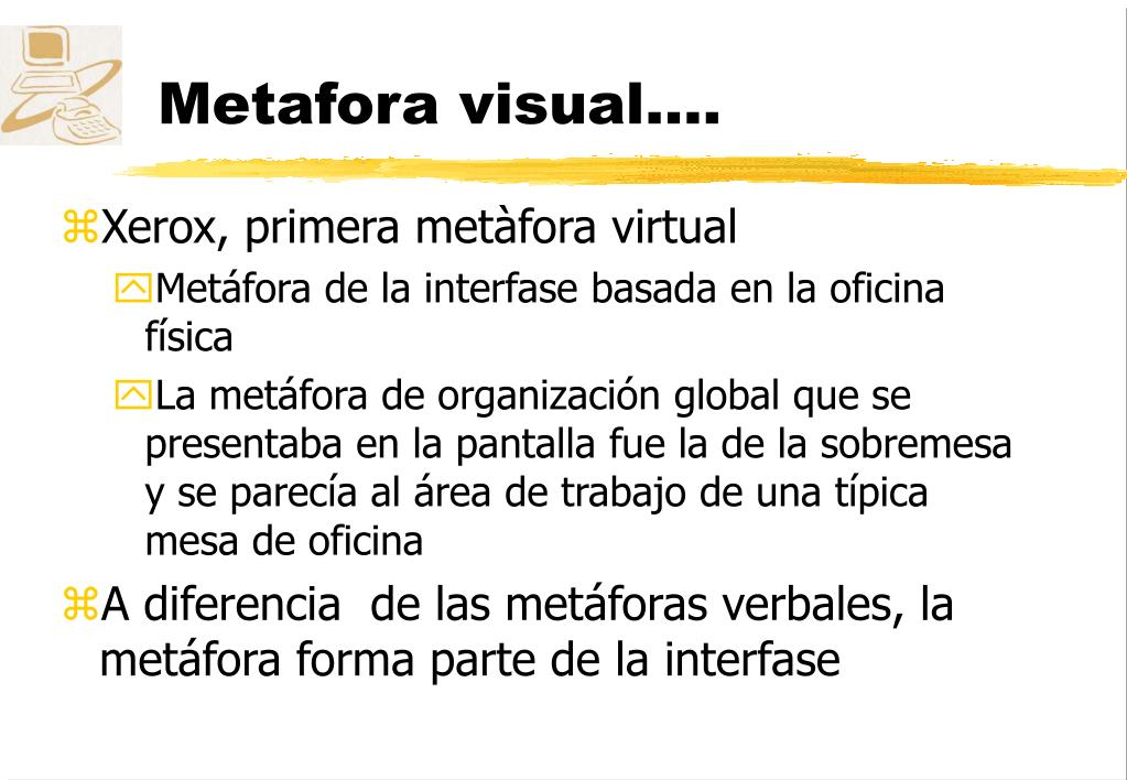 Metafora visual....