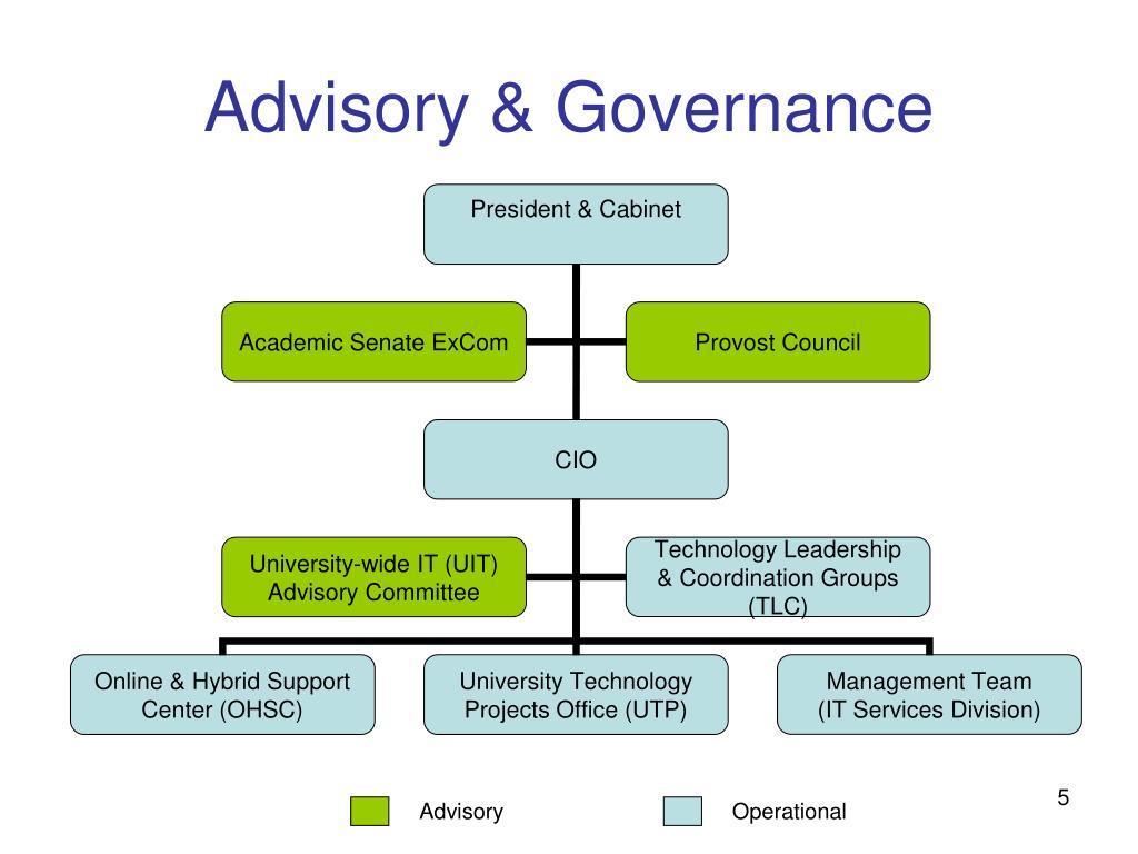 Advisory & Governance