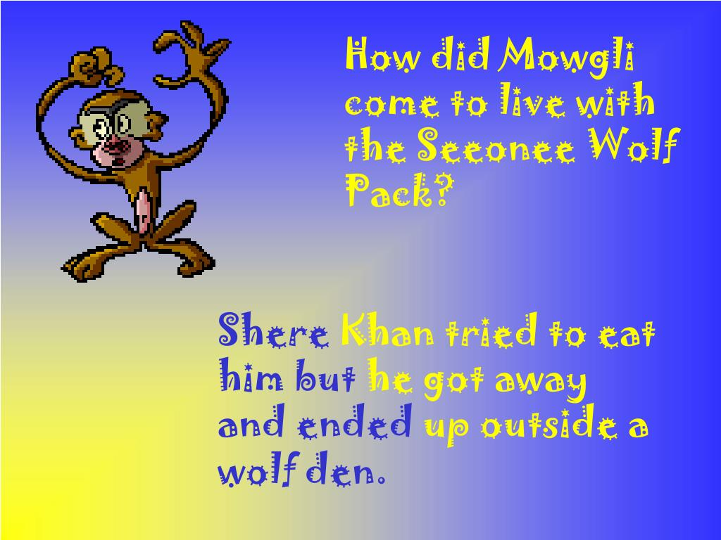 How did Mowgli come to live with the Seeonee Wolf Pack?