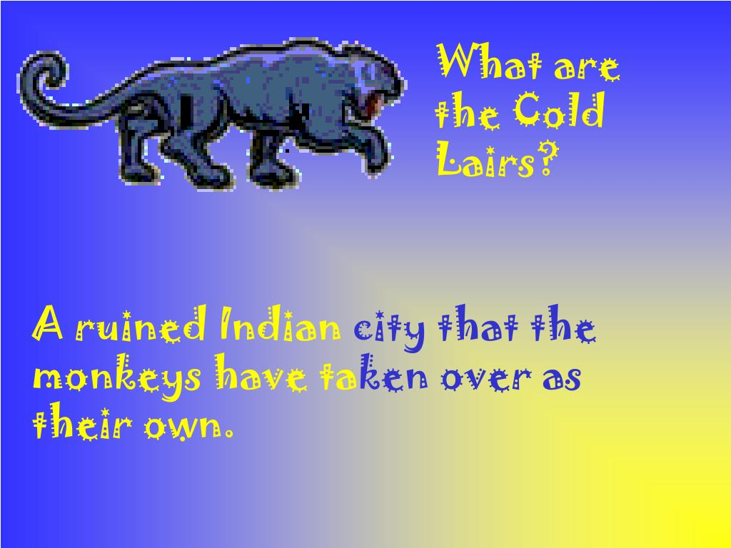 What are the Cold Lairs?