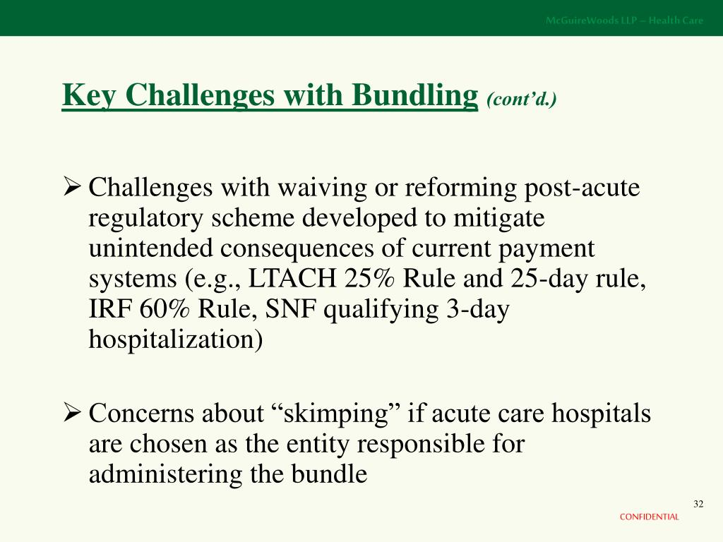 Key Challenges with Bundling