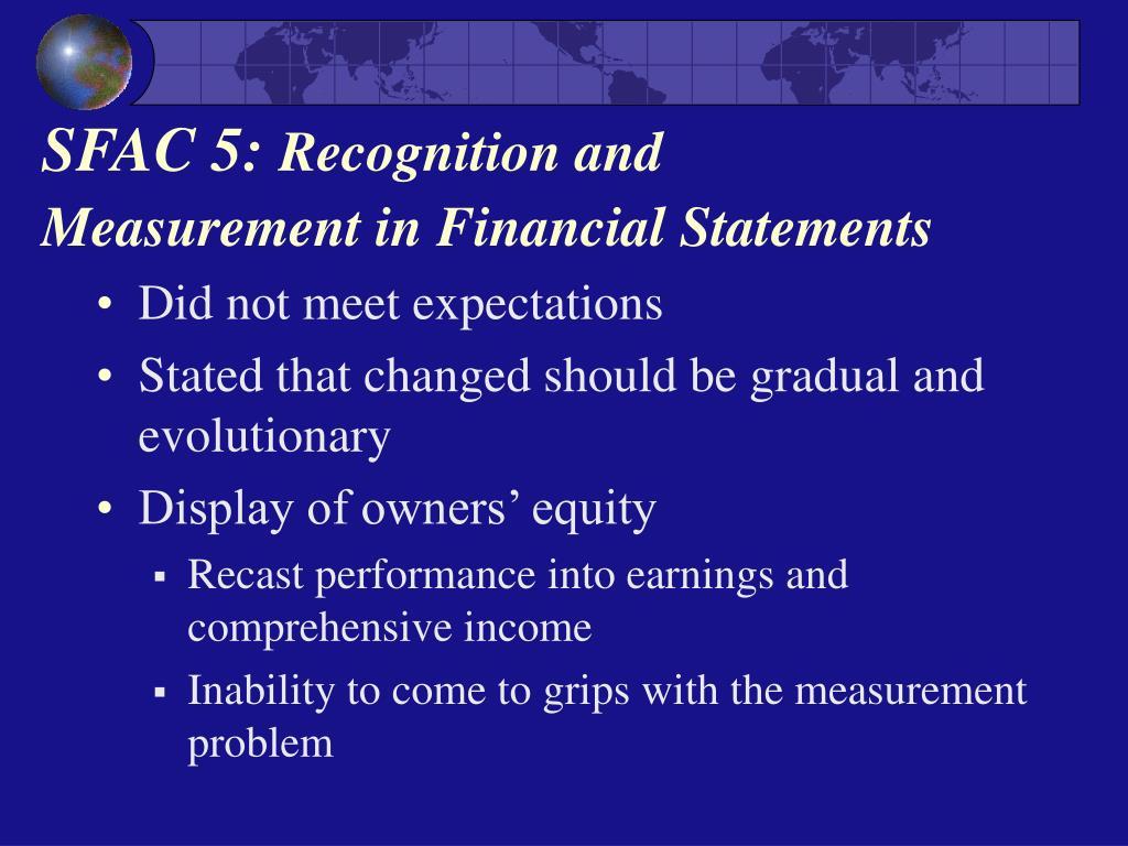 SFAC 5: