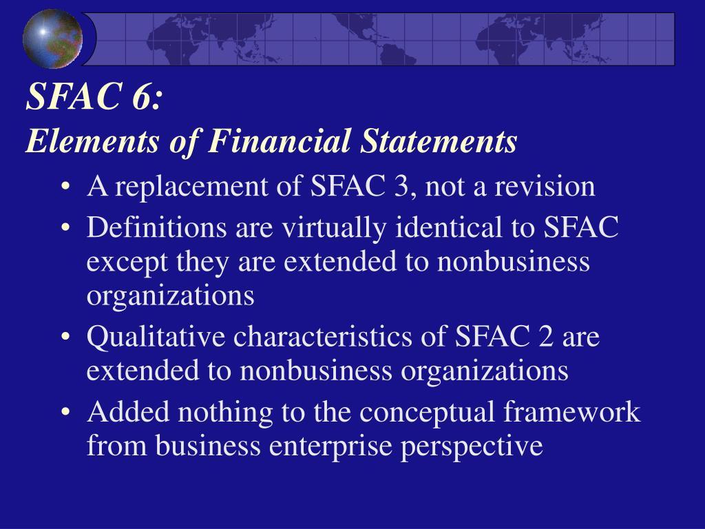 SFAC 6: