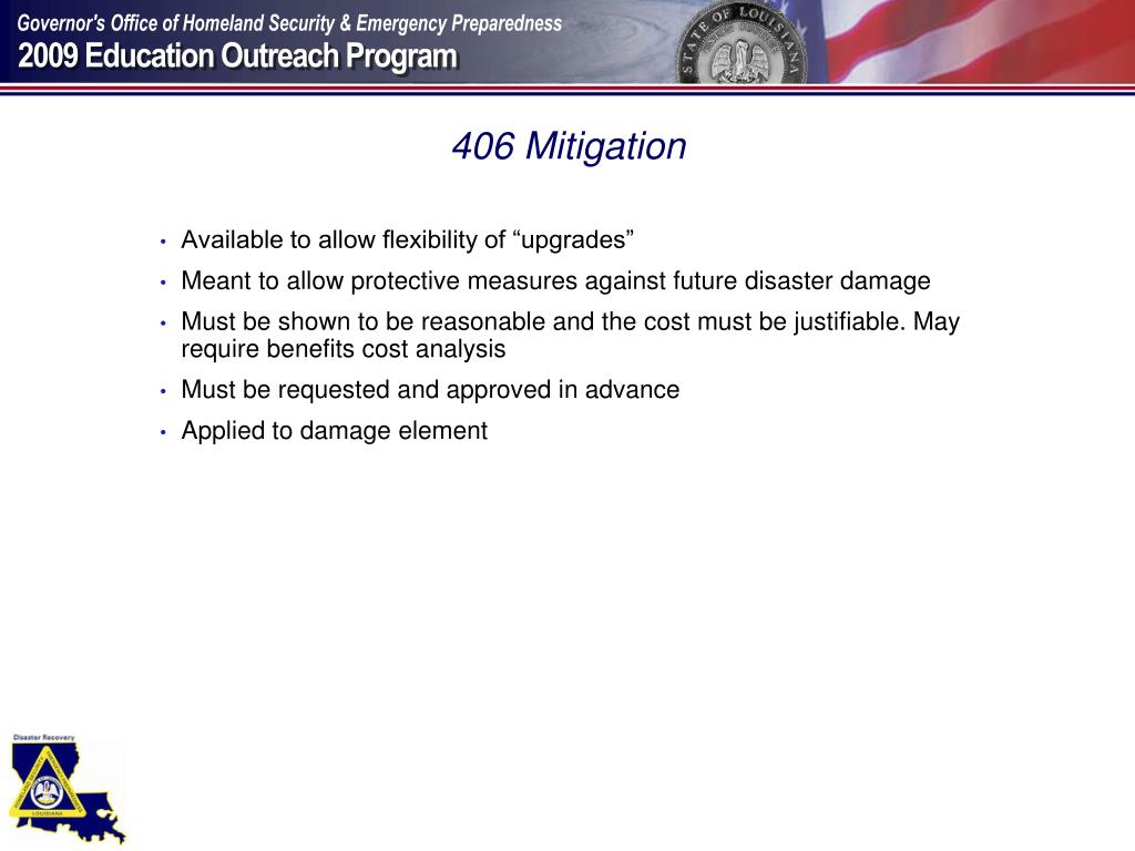 406 Mitigation