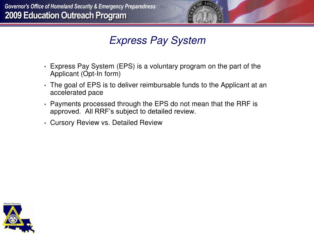 Express Pay System