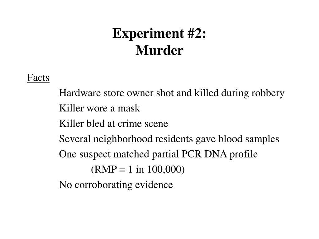 Experiment #2: