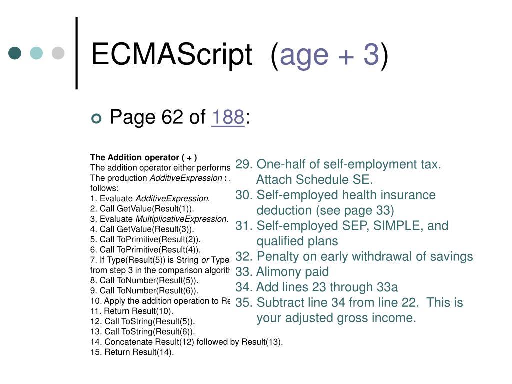 ECMAScript  (