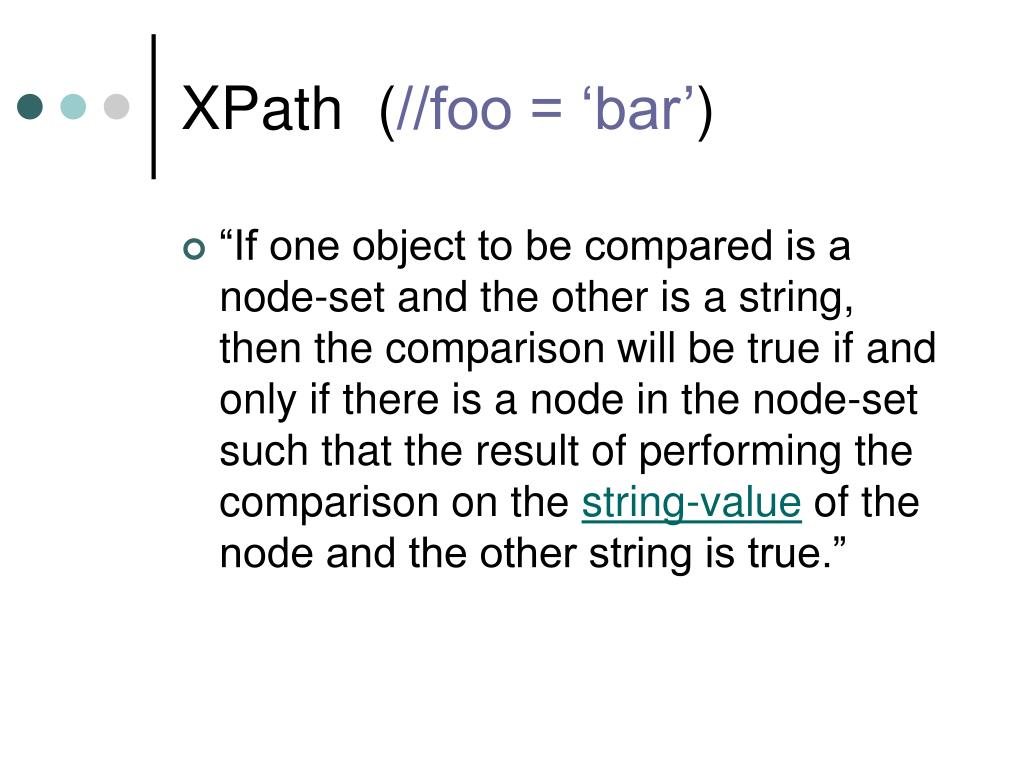 XPath  (