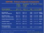 jupiter primary endpoint components