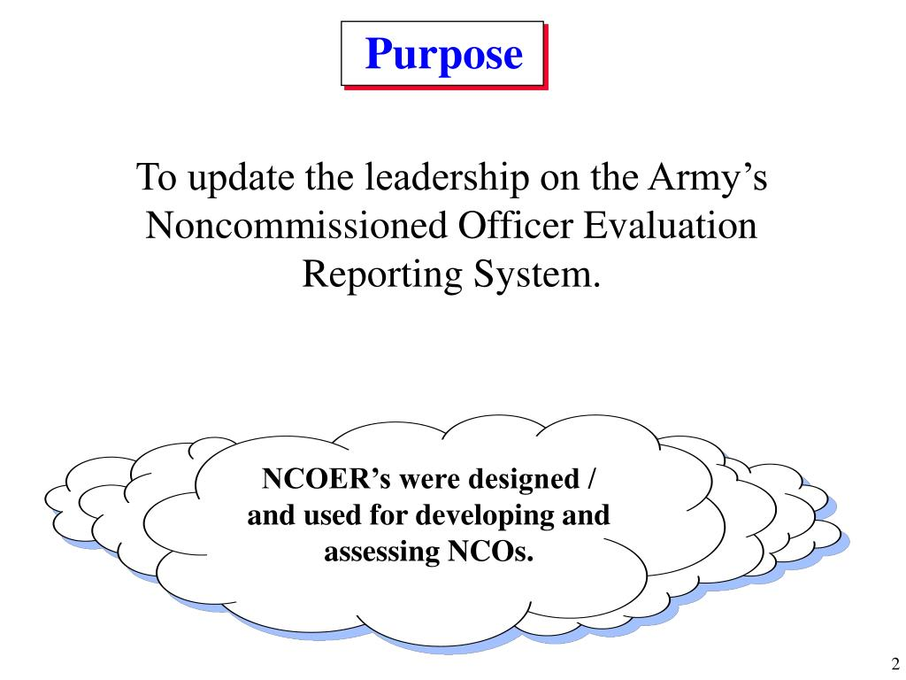 Army Nco Evaluation Report – Wonderful Image Gallery