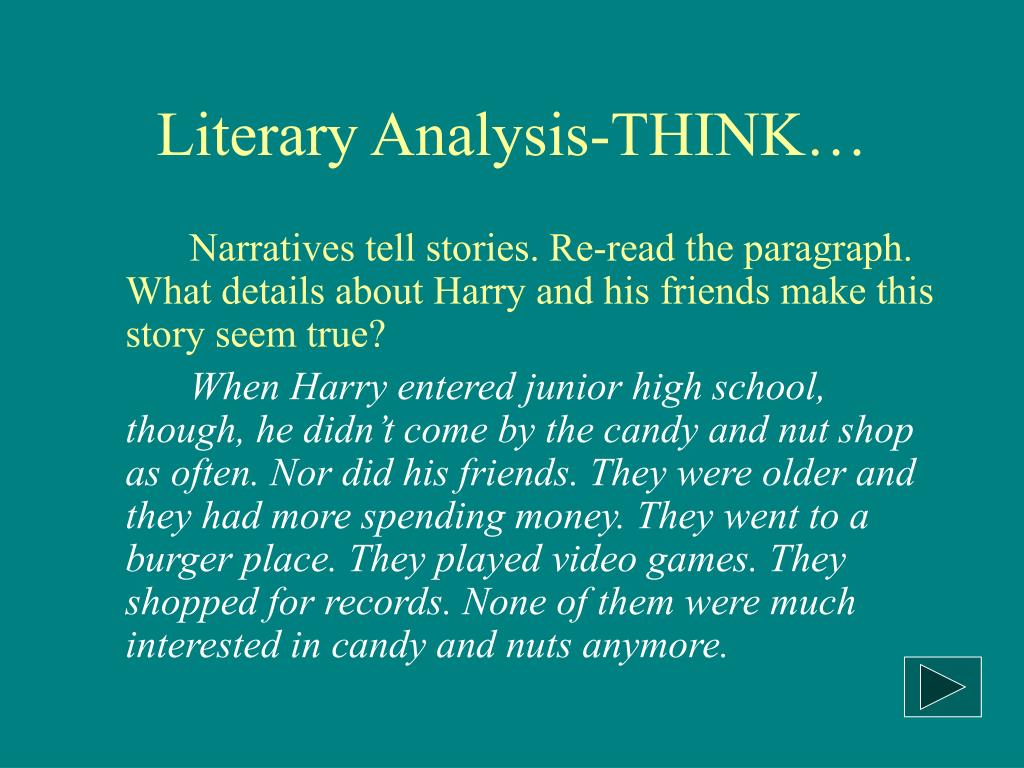 life after high school literary analysis Students who have taken k 12 intermediate english a or b or k 12 middle school literary analysis and composition courses should not enroll in this course back to top and make connections between literature and life as students progress through high school.