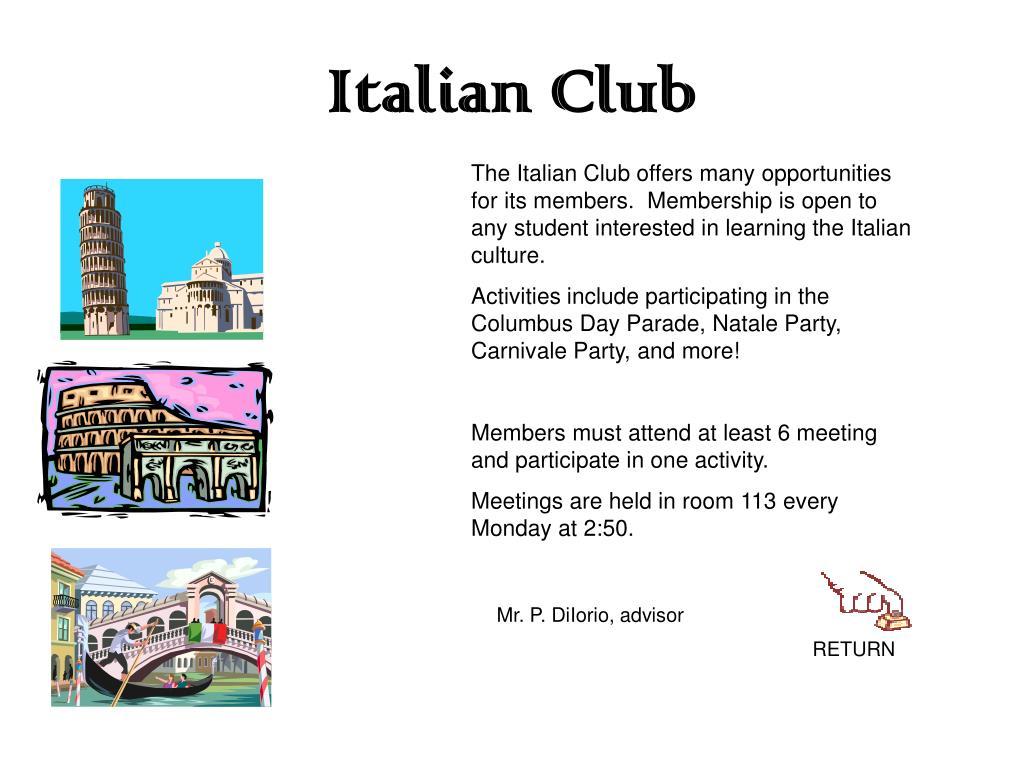 Italian Club