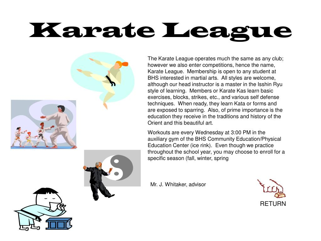 Karate League