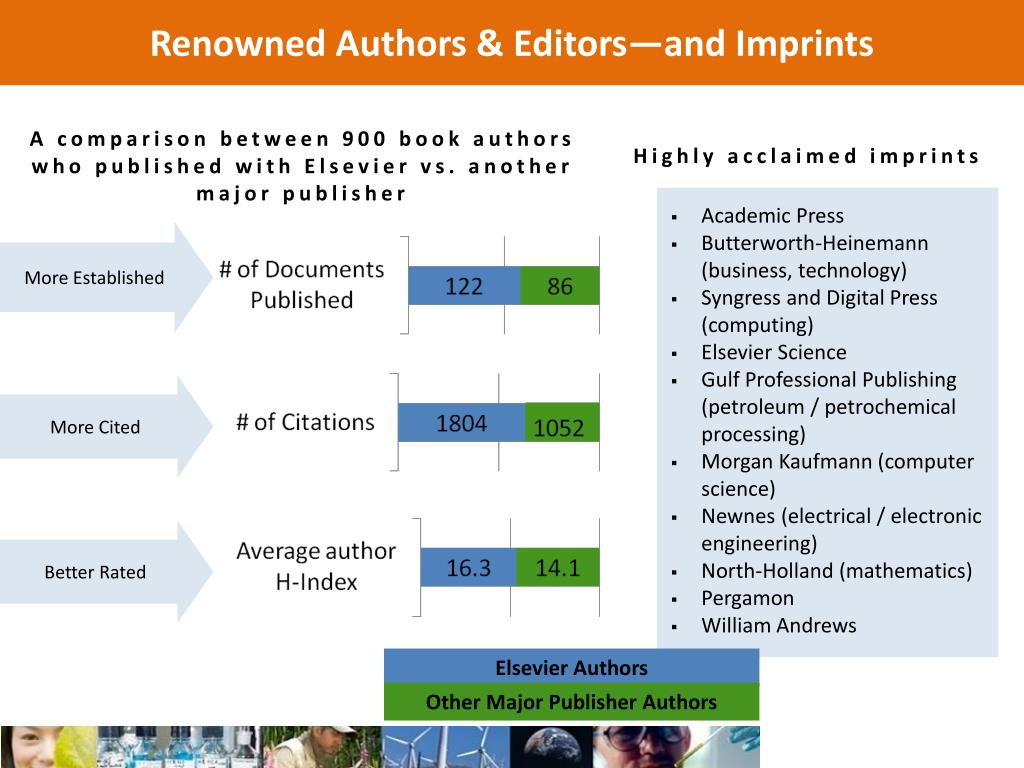 Renowned Authors & Editors—and Imprints