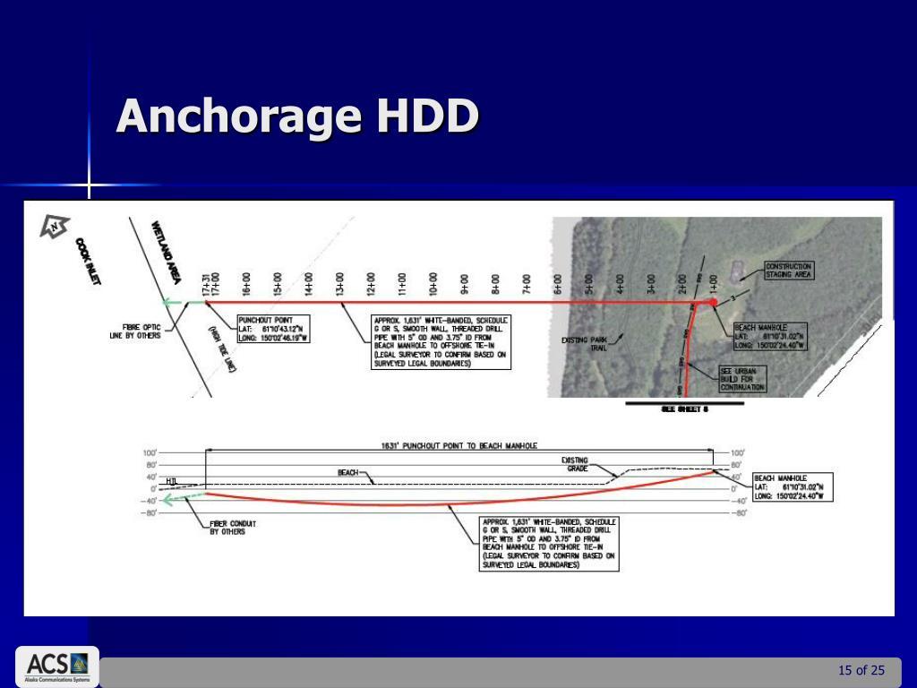 Anchorage HDD
