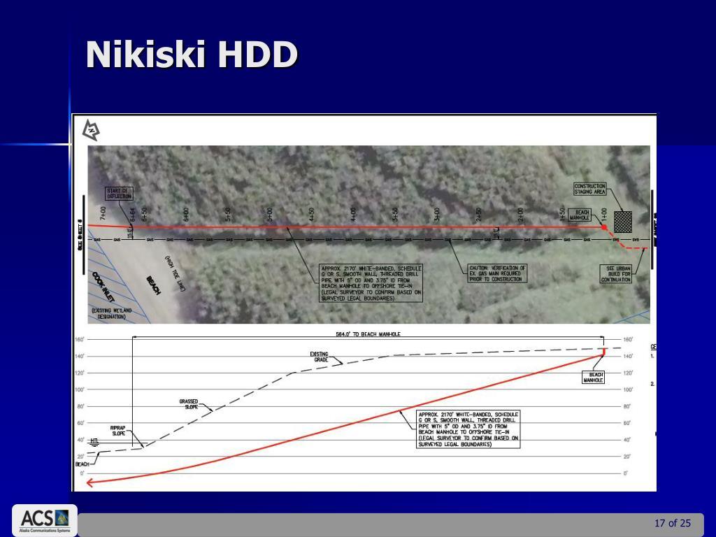 Nikiski HDD
